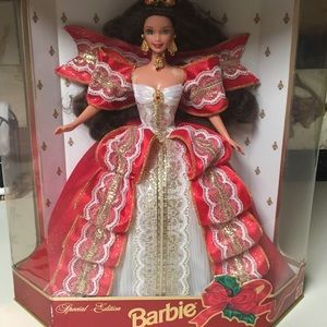 1997 Holiday Barbie 10th Anniversary Collectors